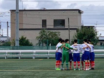 函館地区U15カブスリーグ途中結果