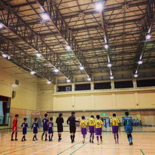 12月14日 全道フットサル選手権 U12 函館地区予選