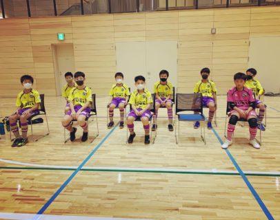 函館地区U12フットサル大会1次R結果