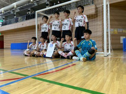 函館地区U12フットサル大会最終結果